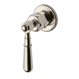 Regulator Volume Control Valve Trim with Metal Lever Handle in Nickel