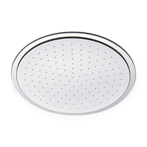 Waterworks Universal Recessed Shower Head in Matte Nickel