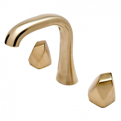 Waterworks Bathroom Faucet in Brushed Brass