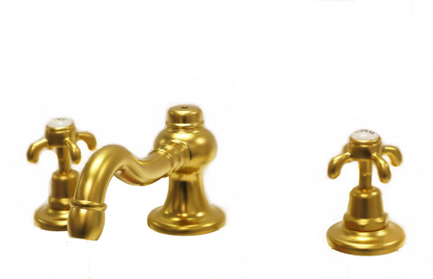 Waterworks Etoile Bathroom Faucet  in Brushed Gold