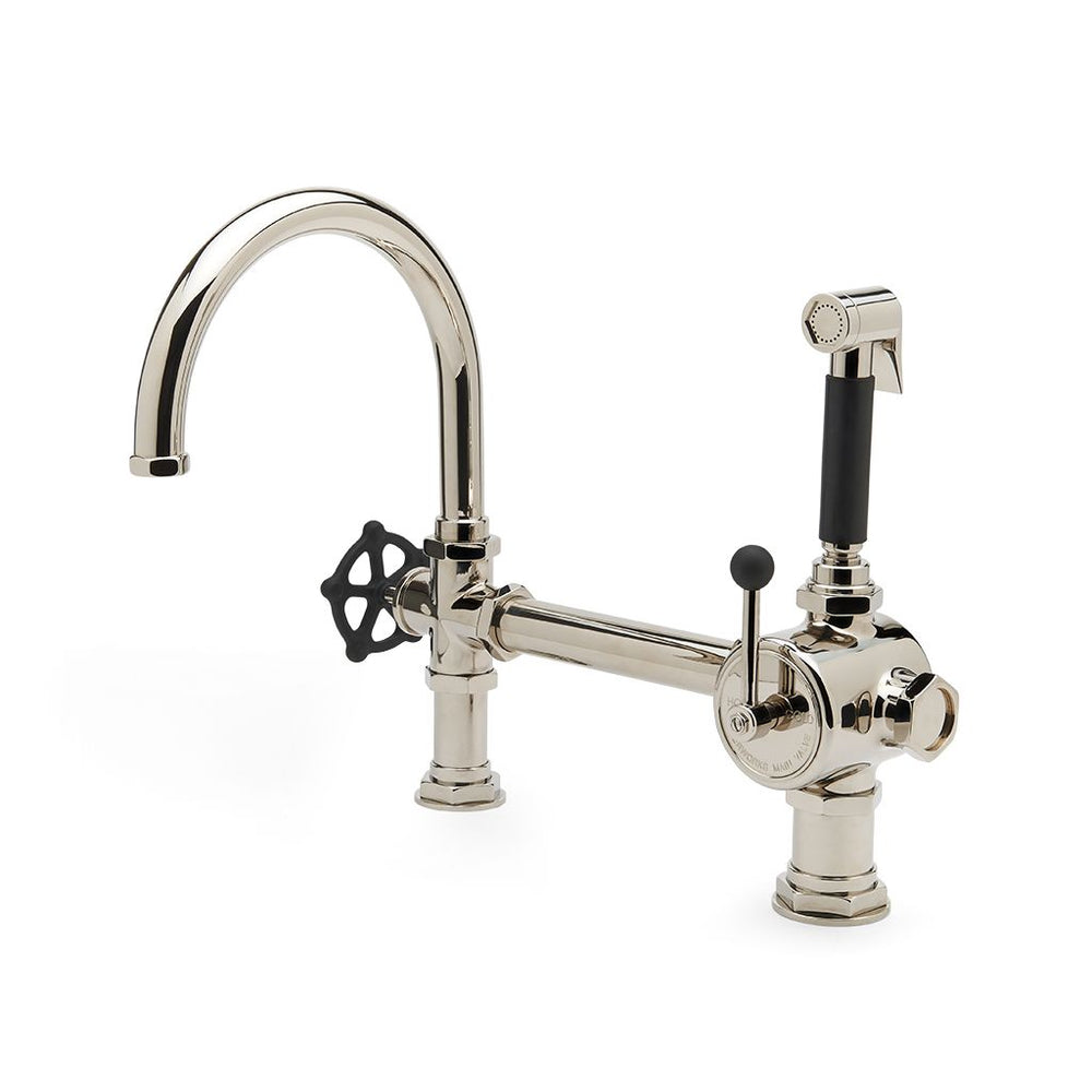 Waterworks Regulator Single Spout Kitchen Faucet in Chrome