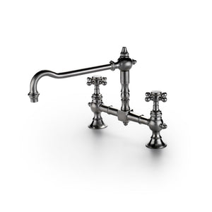Waterworks Julia Bridge Kitchen Faucet in Architectural Bronze