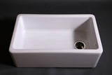 Clayburn Fireclay Farmhouse Apron Kitchen Sink in White