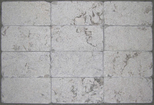Stone Partnership Field Tile 3 x 6 in Gray