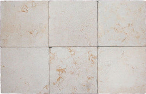 "Stone Partnership Ramon Gold 12"" x 12"" x 1/2"" Tumbled / Bushammered Stone"