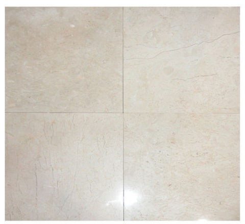 Stone Partnership Field Tile 18 x 18 in Beige