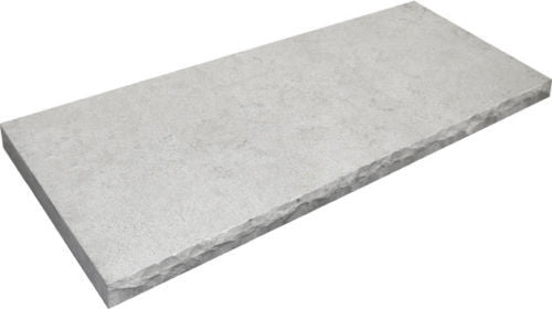 Stone Partnership Field Tile 14 x 36 in Gray