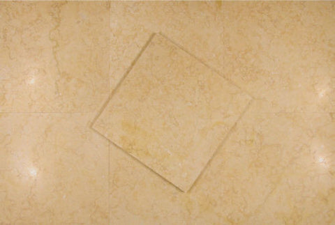"Stone Partnership Desert Gold 12"" x 12"" Natural Stone in Honed"
