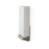 Waterworks Formwork Wall Mounted Sconce in Nickel