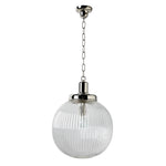 Waterworks Aurora Large Ceiling Mounted Pendant in Nickel