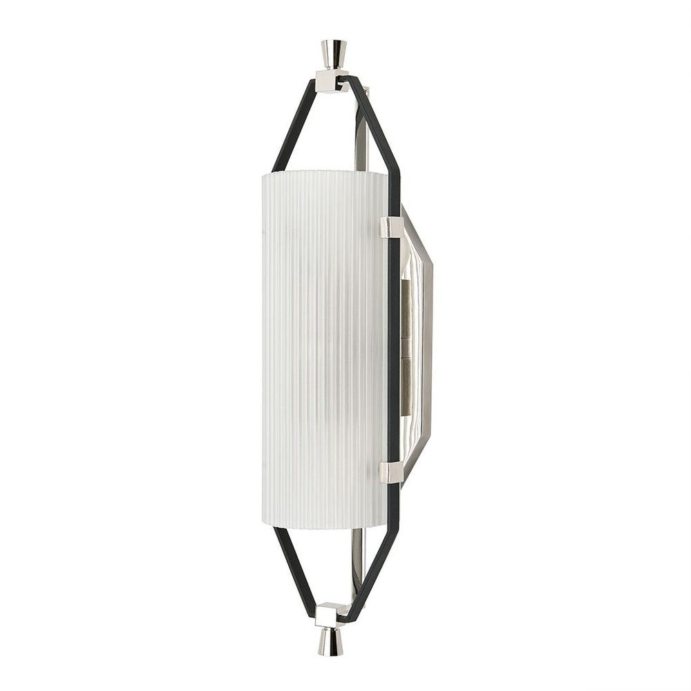 Waterworks Addair Wall Mounted Single Sconce in Nickel