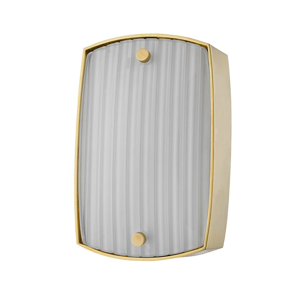 Waterworks Point Reyes Wall Mounted Sconce in Nickel