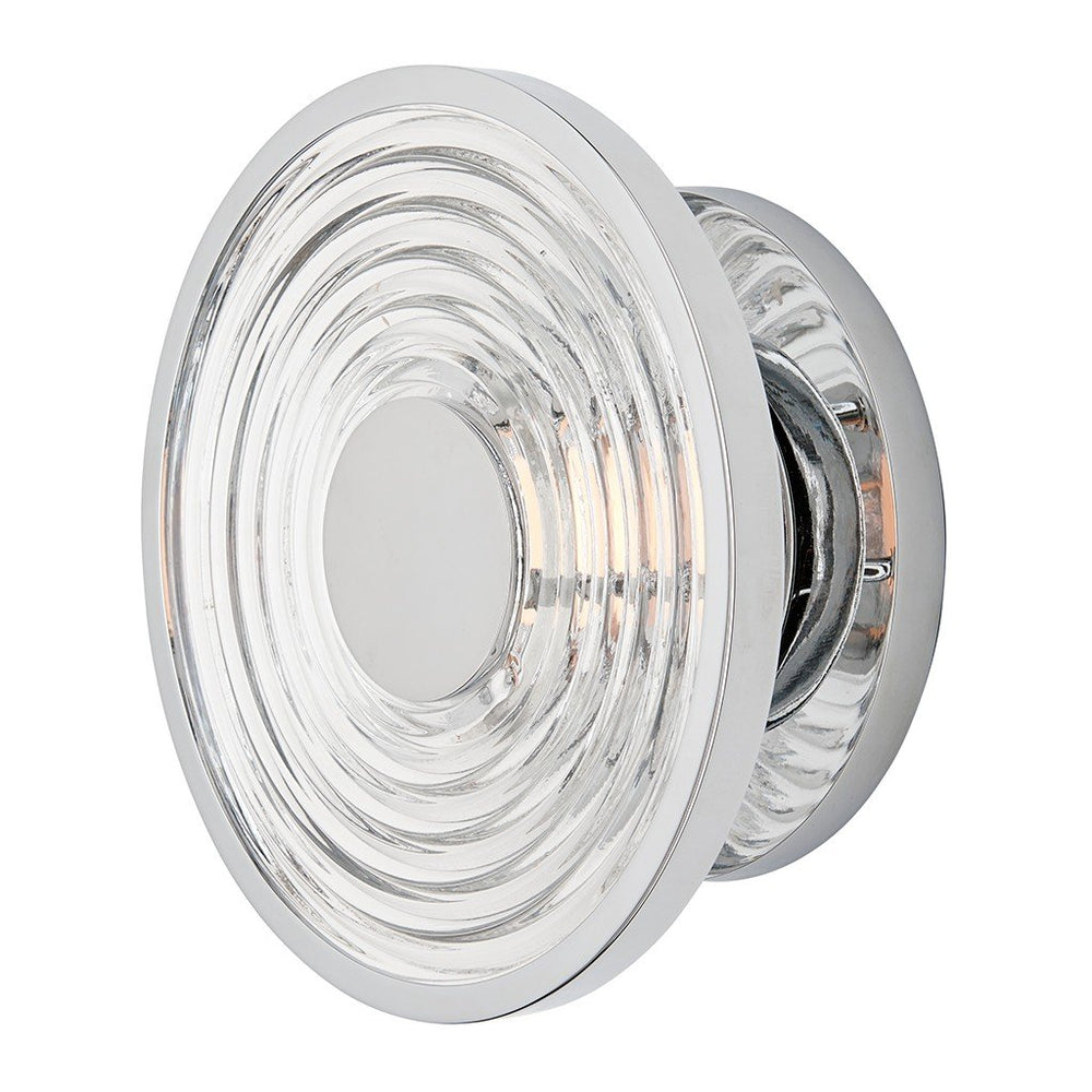 Waterworks Decibel Wall Mounted LED Sconce in Nickel