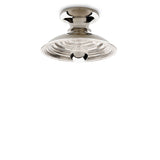Waterworks Henry Wall / Ceiling Flush Mount Sconce in Chrome