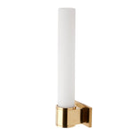 Waterworks Opus Wall Mounted Single Arm Sconce in Unlacquered Brass