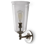 Waterworks Henry with Hand Blown Glass Shade in Chrome