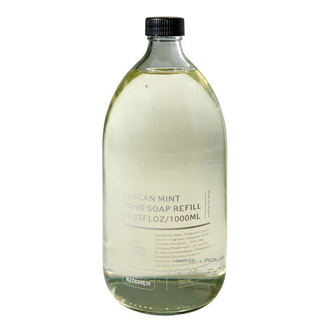 Waterworks Liquid Hand Soap Refill in Tuscan Mint