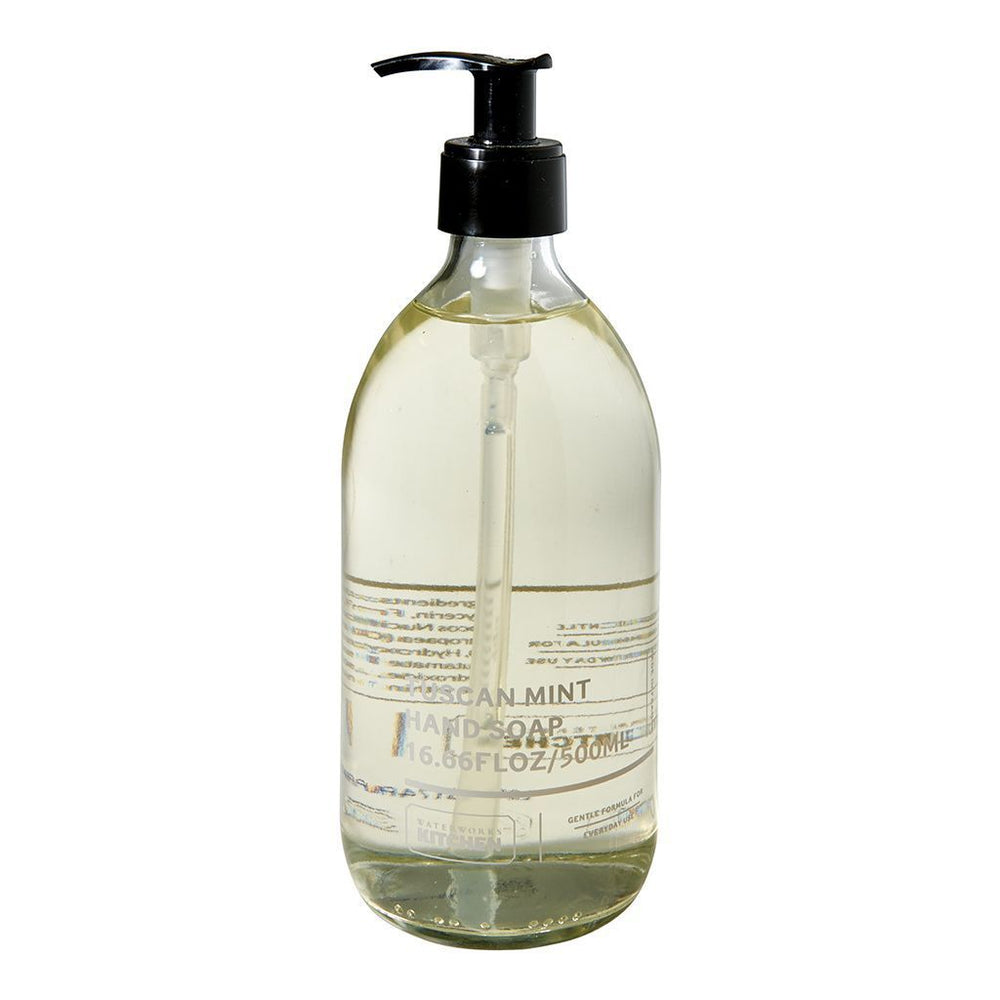 Waterworks Liquid Hand Soap in Tuscan Mint
