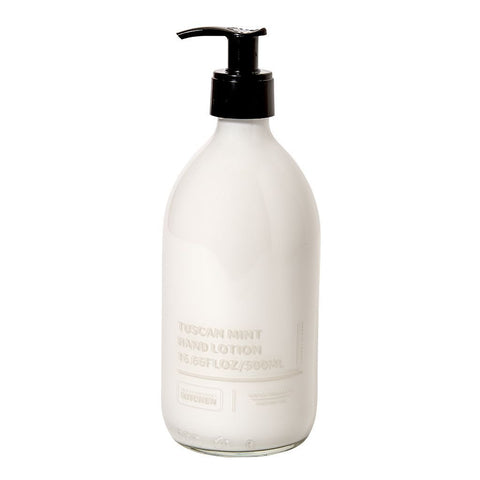 Waterworks Hand Lotion in Tuscan Mint