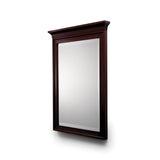 Waterworks Regent Wood Rectangular Mirror in Mahogany