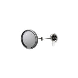 "Waterworks Wall Mounted Magnifying Mirror 9 3/16"" Diameter in Chrome"