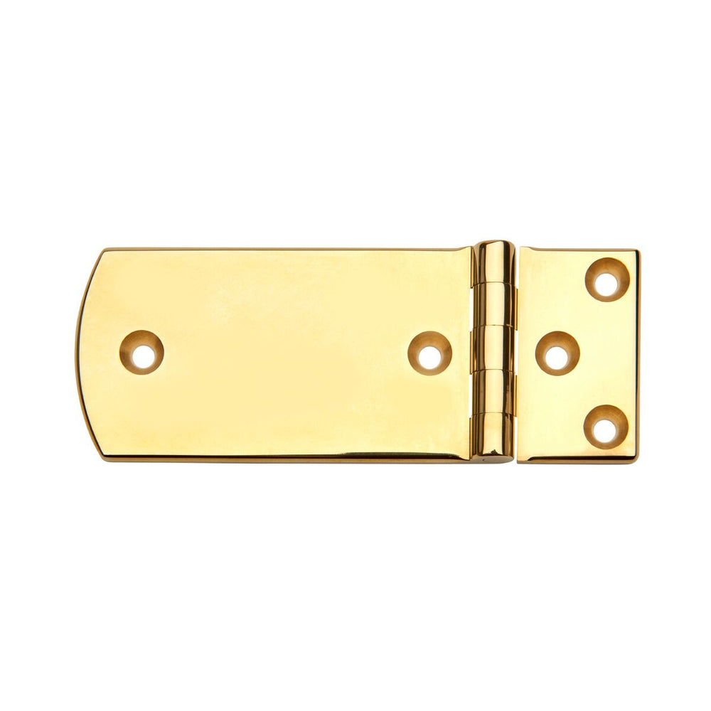 "Waterworks Boothbay 3 1/2"" Hinge in Unlacquered Brass"