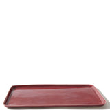 Waterworks Chatham Rectangular Tray in Red