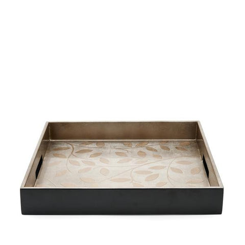 Waterworks Bijoux Large Square Tray in Brown