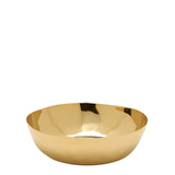 Clancy Medium Bowl in Brass