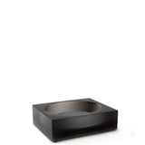 Waterworks Glacier Soap Dish in Black