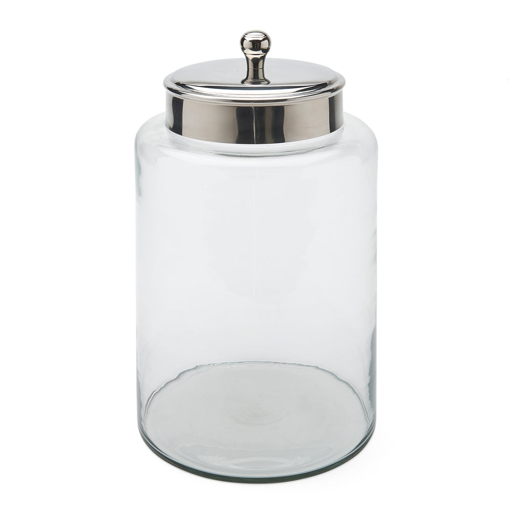 Waterworks Bella Tall Canister in Clear