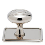 "Waterworks Pinkerton 1 1/2"" Knob in Matte Nickel"