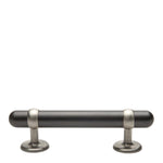 "Waterworks Stockton 6 1/4"" Metal Pull in Architectural Bronze with Matte Nickel"