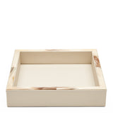 Waterworks Garda Square Tray in White