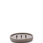Waterworks Urban Concrete Soap Dish in Gray