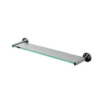 "Waterworks Aero 24"" Single Tier Shelf in Nickel"