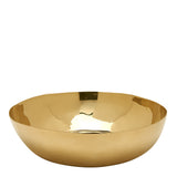 Waterworks Clancy Large Bowl in Brass