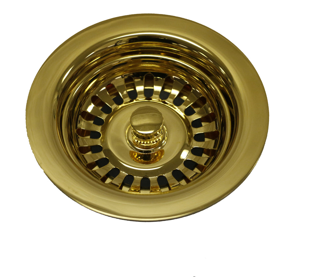 Waterworks Universal Kitchen Strainer in Gold