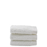 Waterworks Cumulus Terry Washcloth in White