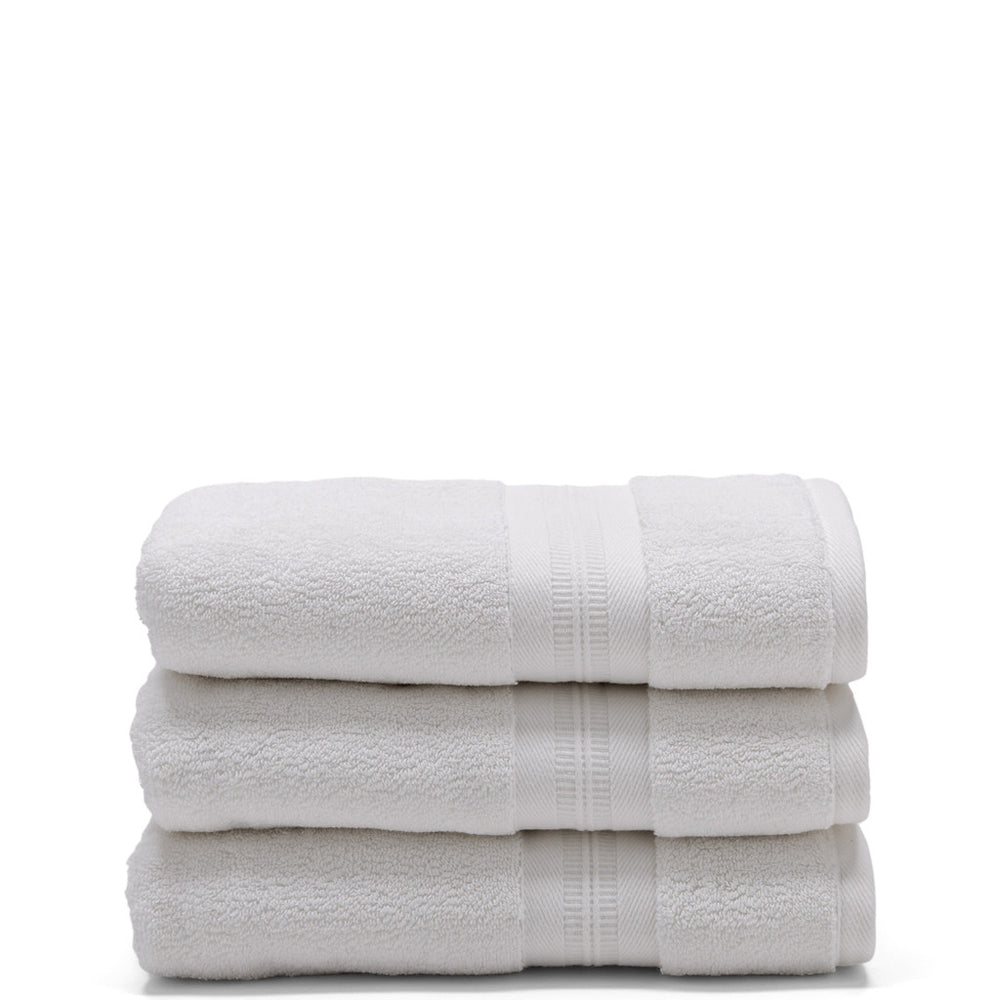 Waterworks Benchmark Wash Towel in White