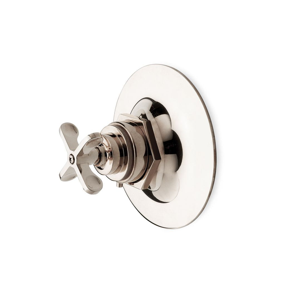 Waterworks Henry Thermostatic Control Valve in Antique Nickel