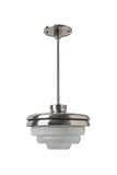 R.W. Atlas Ceiling Mounted Pendant in Burnished Nickel