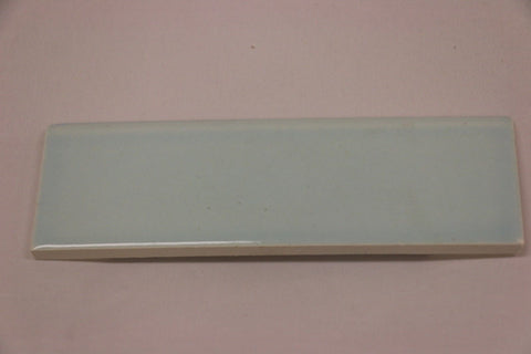 Waterworks Architectonics Field Tile 2 x 6 Bullnose Single (Long) in Blue Glossy