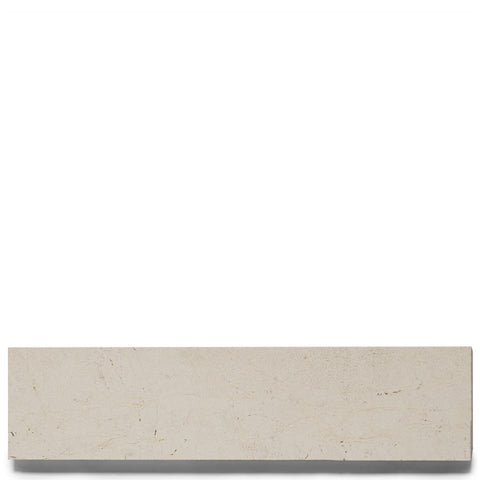 Waterworks Keystone Field Tile 4 x 16 in Crema D'Orcia Honed