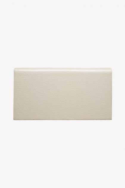 Waterworks Architectonics Field Tile 4 1/4 x 8 Bullnose (Long) in Dove