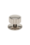 "Portico 1 1/2"" Knob in Matte Nickel"