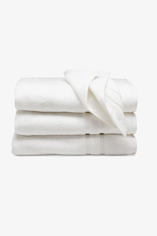 Perennial Cotton Hand Towels in Linen