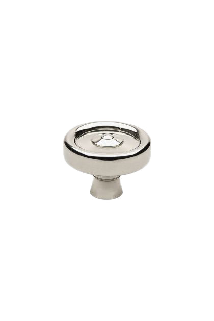 "Waterworks Enfield 1 1/4"" Knob in Matte Nickel"