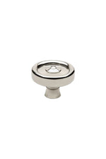 "Waterworks Enfield 1 1/4"" Knob in Nickel"