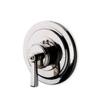 Waterworks Aero Thermostatic Control Valve Trim in Antique Brass